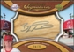 2007 Upper Deck Sweet Spot Signatures Bat Barrel Silver Ink #BW Brandon Wood Autograph /25