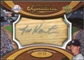 2007 Upper Deck Sweet Spot Signatures Bat Barrel Silver Ink #KA Jeff Karstens Autograph /25