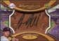 2007 Upper Deck Sweet Spot Signatures Glove Leather Black Ink #JK Jason Kubel Autograph /75