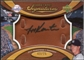 2007 Upper Deck Sweet Spot Signatures Glove Leather Black Ink #KA Jeff Karstens Autograph /75
