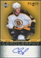 2007/08 Upper Deck Black Diamond Gemography #GCK Chuck Kobasew Autograph