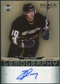 2007/08 Upper Deck Black Diamond Gemography #GCP Corey Perry Autograph