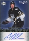 2007/08 Upper Deck Black Diamond Gemography #GCT Chris Thorburn Autograph