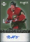 2007/08 Upper Deck Black Diamond Gemography #GFO Matt Foy Autograph