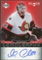 2007/08 Upper Deck Black Diamond Gemography #GGE Martin Gerber Autograph
