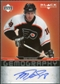 2007/08 Upper Deck Black Diamond Gemography #GMI Mike Richards Autograph