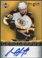 2007/08 Upper Deck Black Diamond Gemography #GML Matt Lashoff Autograph