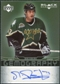 2007/08 Upper Deck Black Diamond Gemography #GMR Mike Ribeiro Autograph