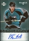 2007/08 Upper Deck Black Diamond Gemography #GSB Steve Bernier Autograph