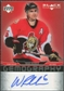 2007/08 Upper Deck Black Diamond Gemography #GWR Wade Redden Autograph