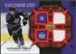 2007/08 Upper Deck Black Diamond Jerseys Ruby Dual #BDJAF Alexander Frolov /100