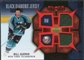 2007/08 Upper Deck Black Diamond Jerseys Ruby Dual #BDJBG Bill Guerin /100