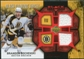 2007/08 Upper Deck Black Diamond Jerseys Ruby Dual #BDJBO Brandon Bochenski /100
