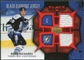 2007/08 Upper Deck Black Diamond Jerseys Ruby Dual #BDJBR Brad Richards /100