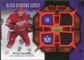 2007/08 Upper Deck Black Diamond Jerseys Ruby Dual #BDJKC Kyle Calder /100