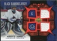 2007/08 Upper Deck Black Diamond Jerseys Ruby Dual #BDJRL Roberto Luongo /100