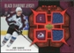 2007/08 Upper Deck Black Diamond Jerseys Ruby Dual #BDJSA Joe Sakic /100
