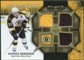 2007/08 Upper Deck Black Diamond Jerseys Gold Triple #BDJBE Patrice Bergeron /25