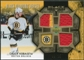2007/08 Upper Deck Black Diamond Jerseys Gold Triple #BDJCK Chuck Kobasew /25