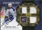 2007/08 Upper Deck Black Diamond Jerseys Gold Triple #BDJMI Michael Peca /25