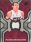 2007/08 Upper Deck SPx Flashback Fabrics #JW Jason Williams