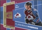 2007/08 Upper Deck SPx #112 Joe Sakic Jersey