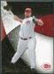 2007 Upper Deck Exquisite Collection Rookie Signatures Gold #74 Aaron Harang /75