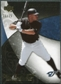 2007 Upper Deck Exquisite Collection Rookie Signatures Gold #92 Vernon Wells /75