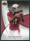 2007 Upper Deck Exquisite Collection #2 Larry Fitzgerald /150