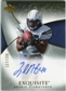 2007 Upper Deck Exquisite Collection #92 Legedu Naanee Autograph /150