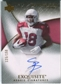 2007 Upper Deck Exquisite Collection #100 Steve Breaston RC Autograph /150