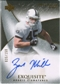 2007 Upper Deck Exquisite Collection #102 Zach Miller RC Autograph /150