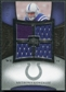 2007 Upper Deck Exquisite Collection Maximum Jersey Silver #AG Anthony Gonzalez /75