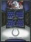 2007 Upper Deck Exquisite Collection Maximum Jersey Silver #AV Adam Vinatieri /75