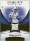 2007 Upper Deck Exquisite Collection Patch Gold #AV Adam Vinatieri /50