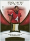 2007 Upper Deck Exquisite Collection Patch Gold #BL Byron Leftwich /50