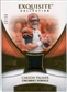 2007 Upper Deck Exquisite Collection Patch Gold #CP Carson Palmer /50