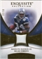 2007 Upper Deck Exquisite Collection Patch Gold #DC Marion Barber /50
