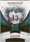 2007 Upper Deck Exquisite Collection Patch Gold #DM Dan Marino /50