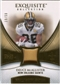 2007 Upper Deck Exquisite Collection Patch Gold #MC Deuce McAllister /50