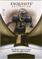 2007 Upper Deck Exquisite Collection Patch Gold #ME Robert Meachem /50