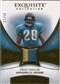 2007 Upper Deck Exquisite Collection Patch Gold #TA Fred Taylor 27/50