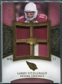 2007 Upper Deck Exquisite Collection Maximum Patch #LF Larry Fitzgerald /25