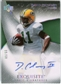 2007 Upper Deck Exquisite Collection Gold #72 David Clowney Autograph /60