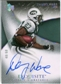 2007 Upper Deck Exquisite Collection Gold #79 Danny Ware Autograph /60