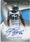2007 Upper Deck Exquisite Collection Gold #83 Jon Beason RC Autograph /60