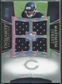 2007 Upper Deck Exquisite Collection Maximum Jersey Silver Spectrum #GW Garrett Wolfe /15
