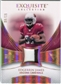 2007 Upper Deck Exquisite Collection Patch Spectrum #EJ Edgerrin James 08/15