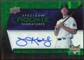 2008 Upper Deck Spectrum Green #122 Joe Koshansky Autograph