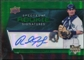 2008 Upper Deck Spectrum Green #136 Rob Johnson Autograph